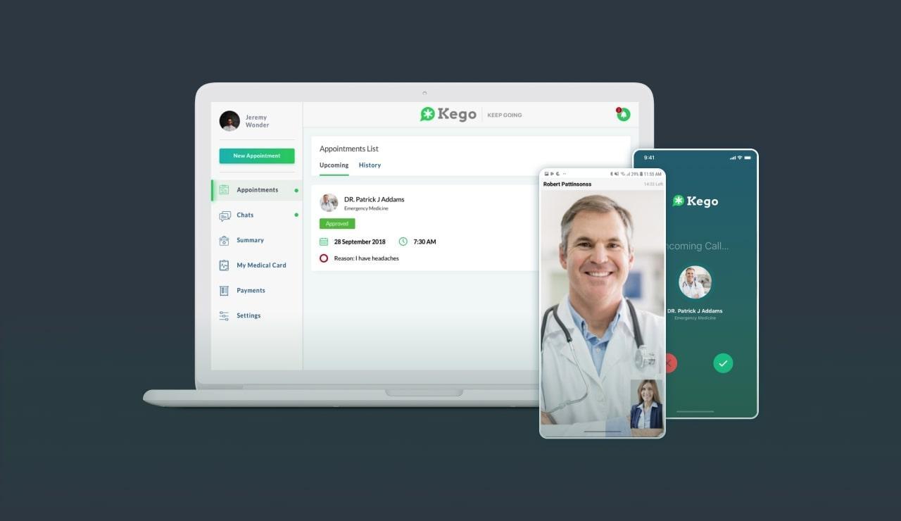 Kego video calling app