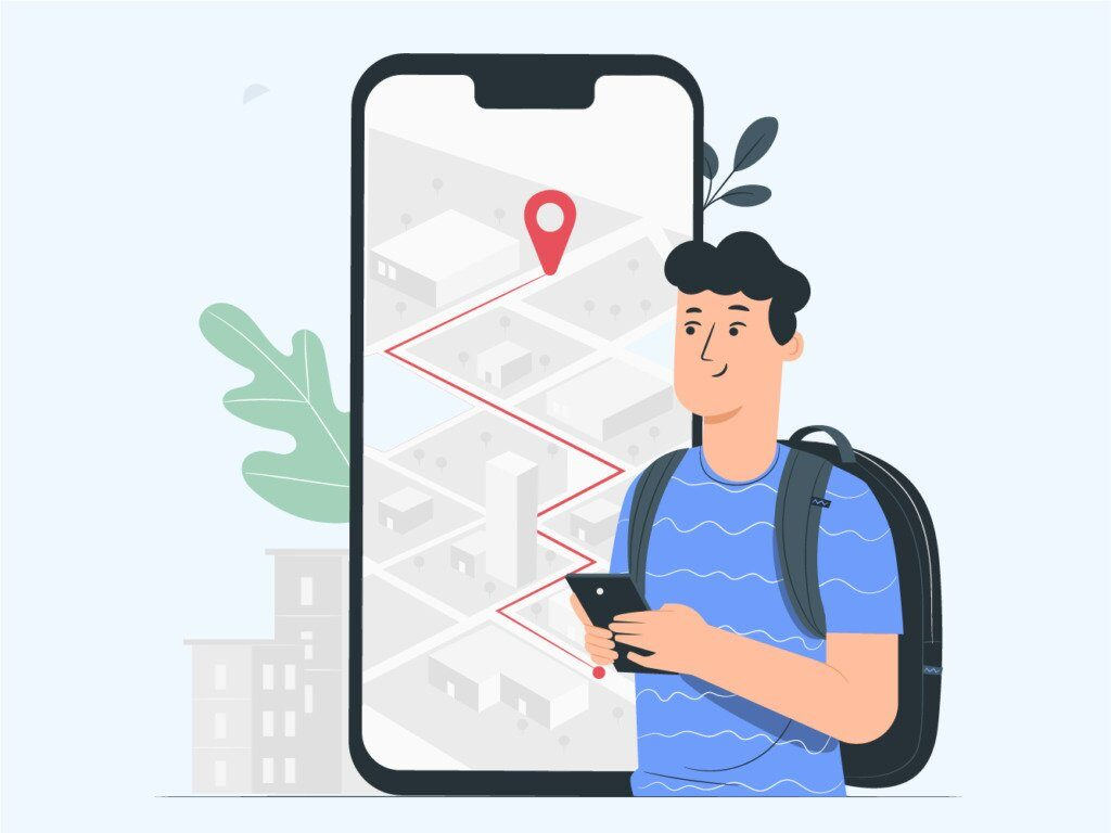 how to create a location-based app ios