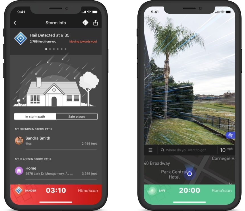 Atmoscan - an augmented reality app built by Riseapps