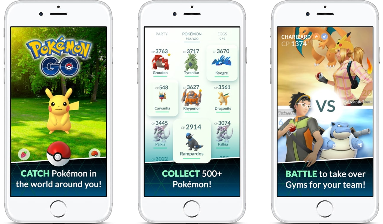 Pokemon Go - the most famous AR applicaiton in 2016