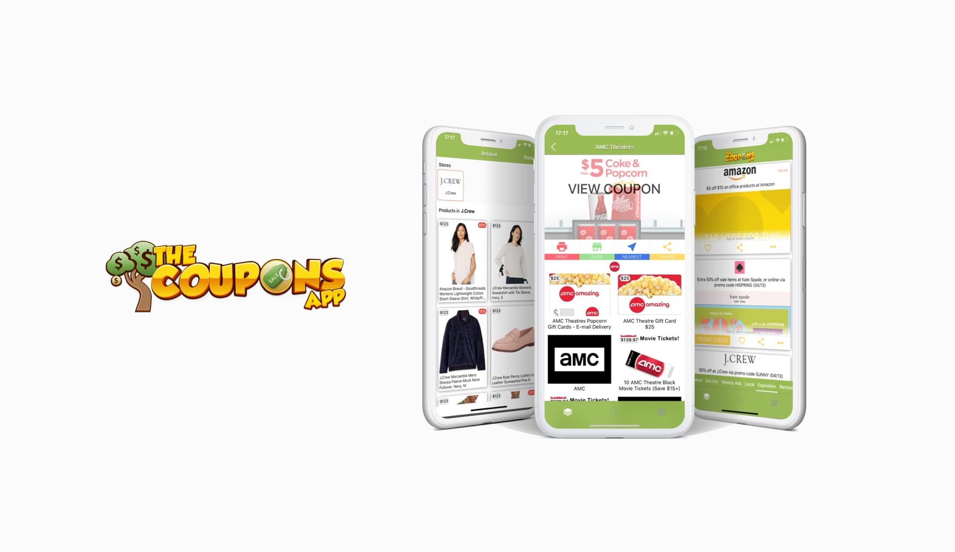 The Coupons shopping app
