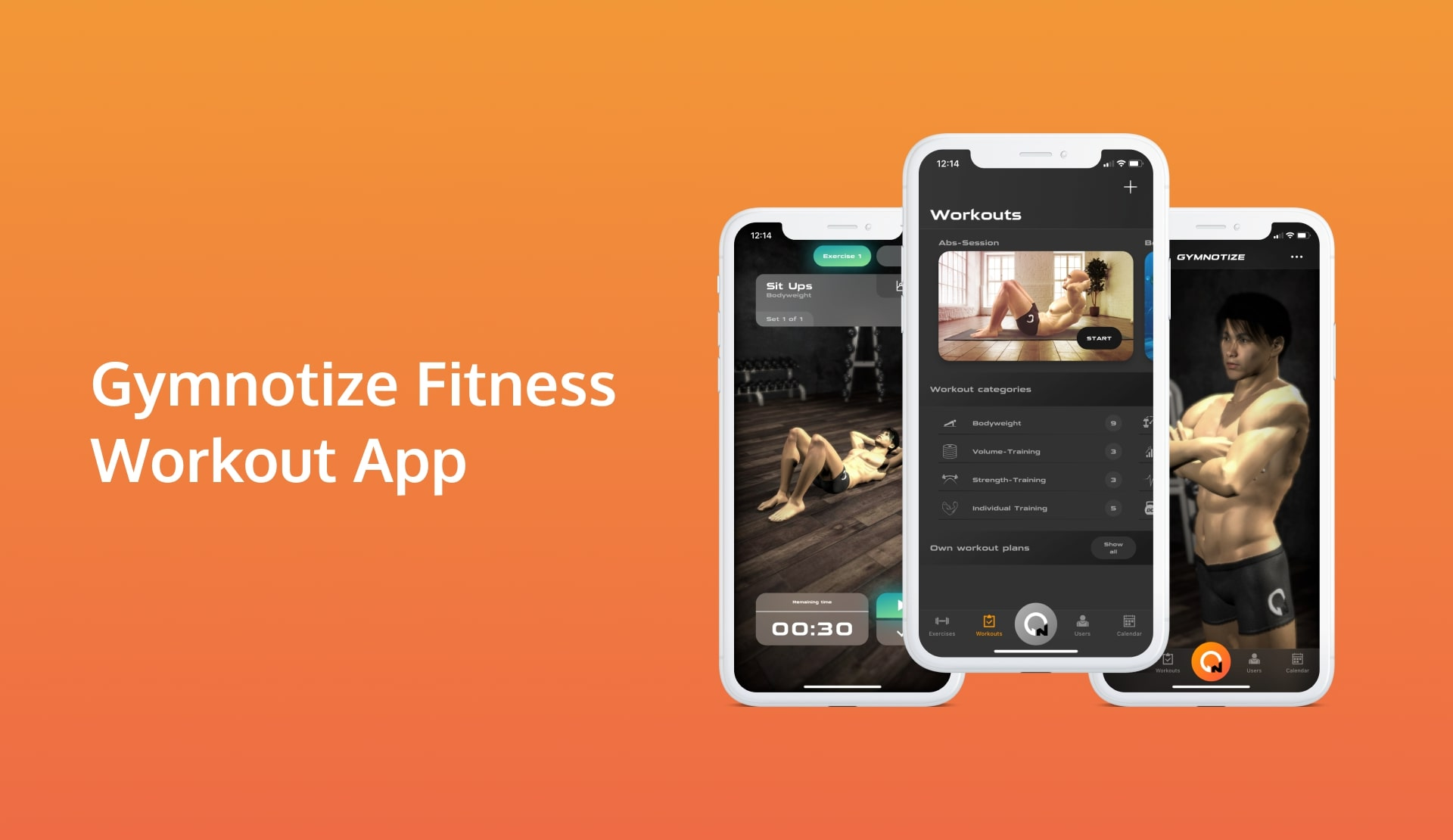 Gymnotize - an app delivering AR to a gym or home