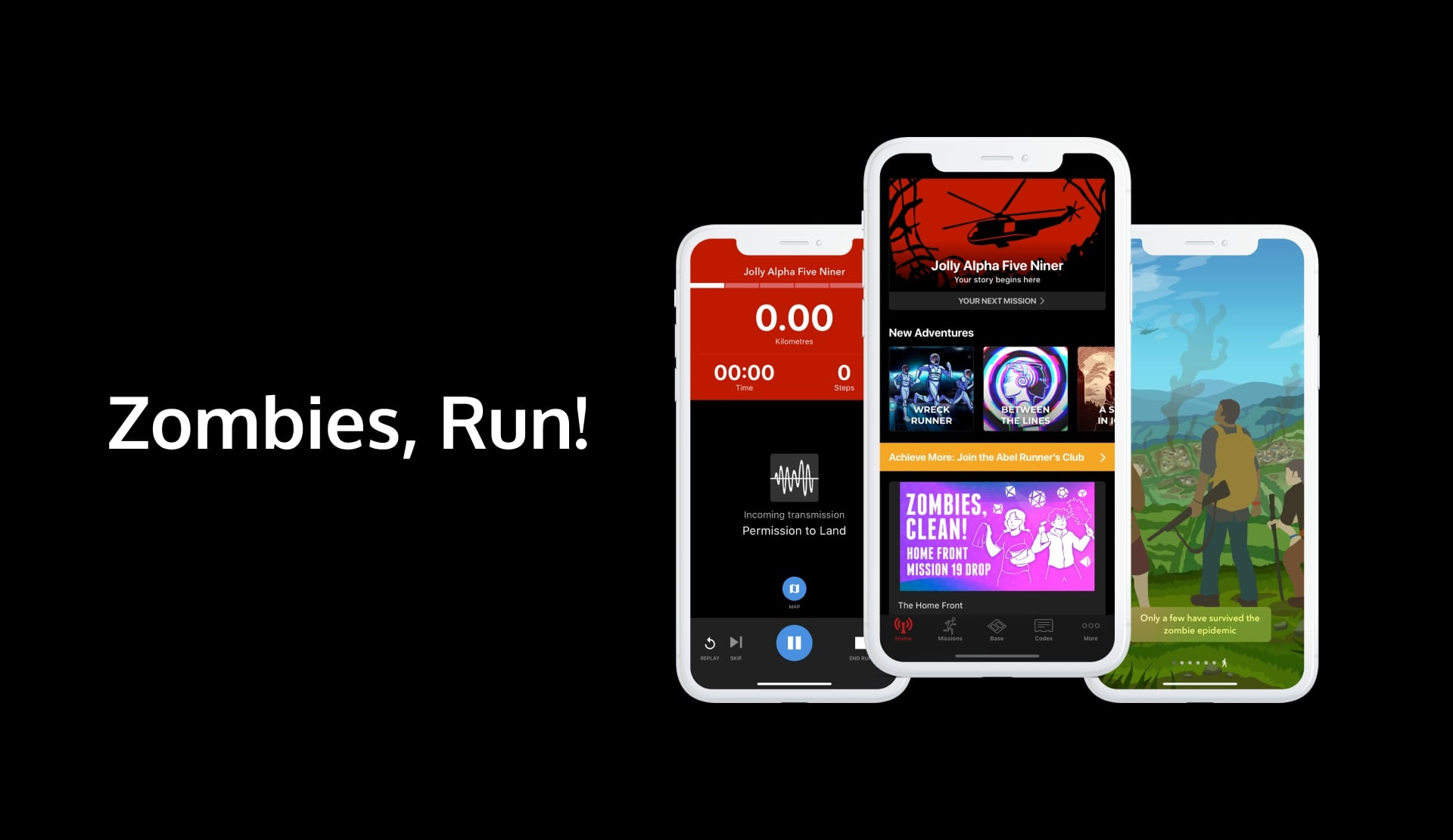 Zombies, Run - an augmented reality workout (running) app