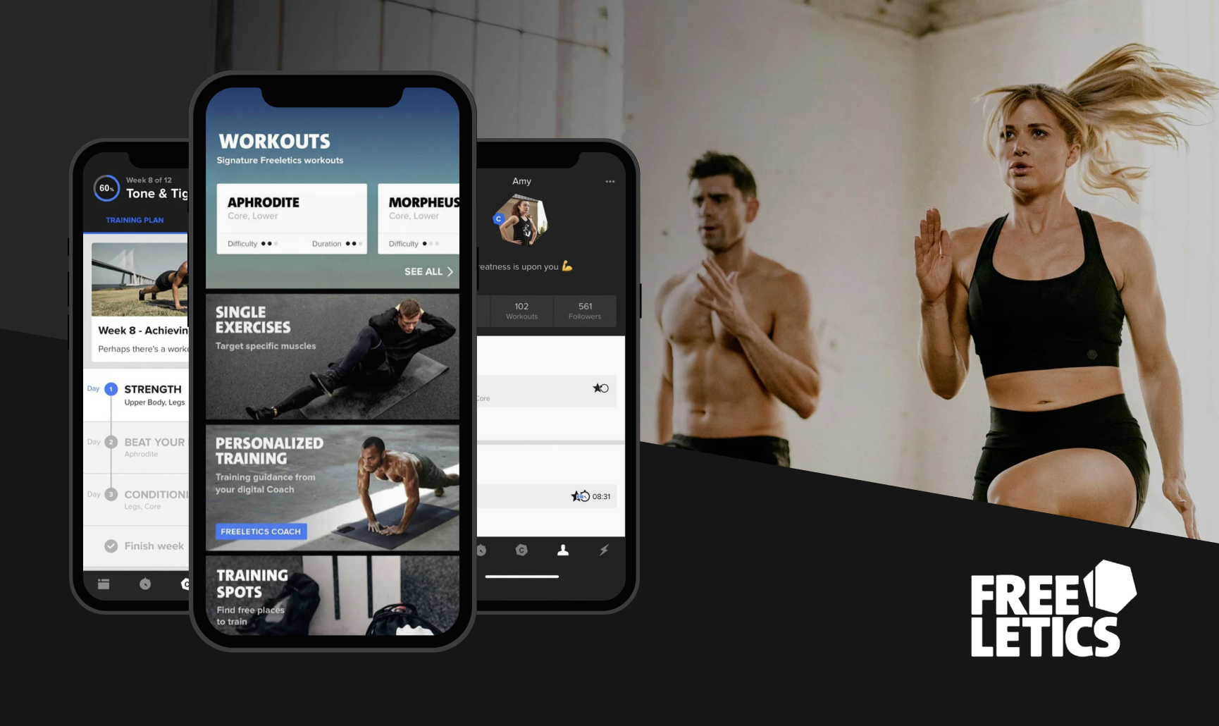 Freeletics - an AI-powered personal trainer