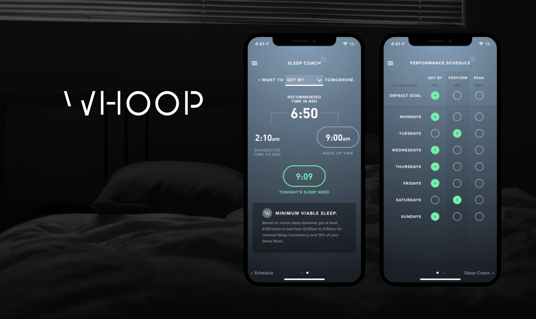 WHOOP is a fitness and sleep tracker