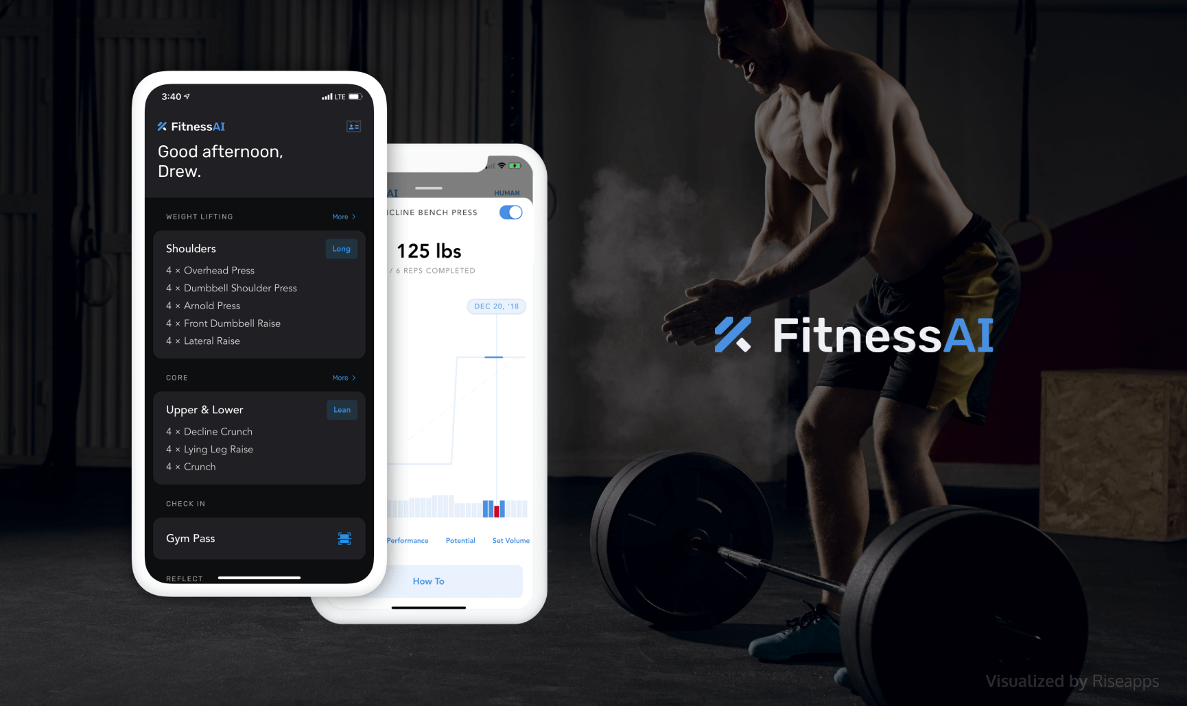 FitnessAI - a Fitness Solutions Using Machine Learning and AI