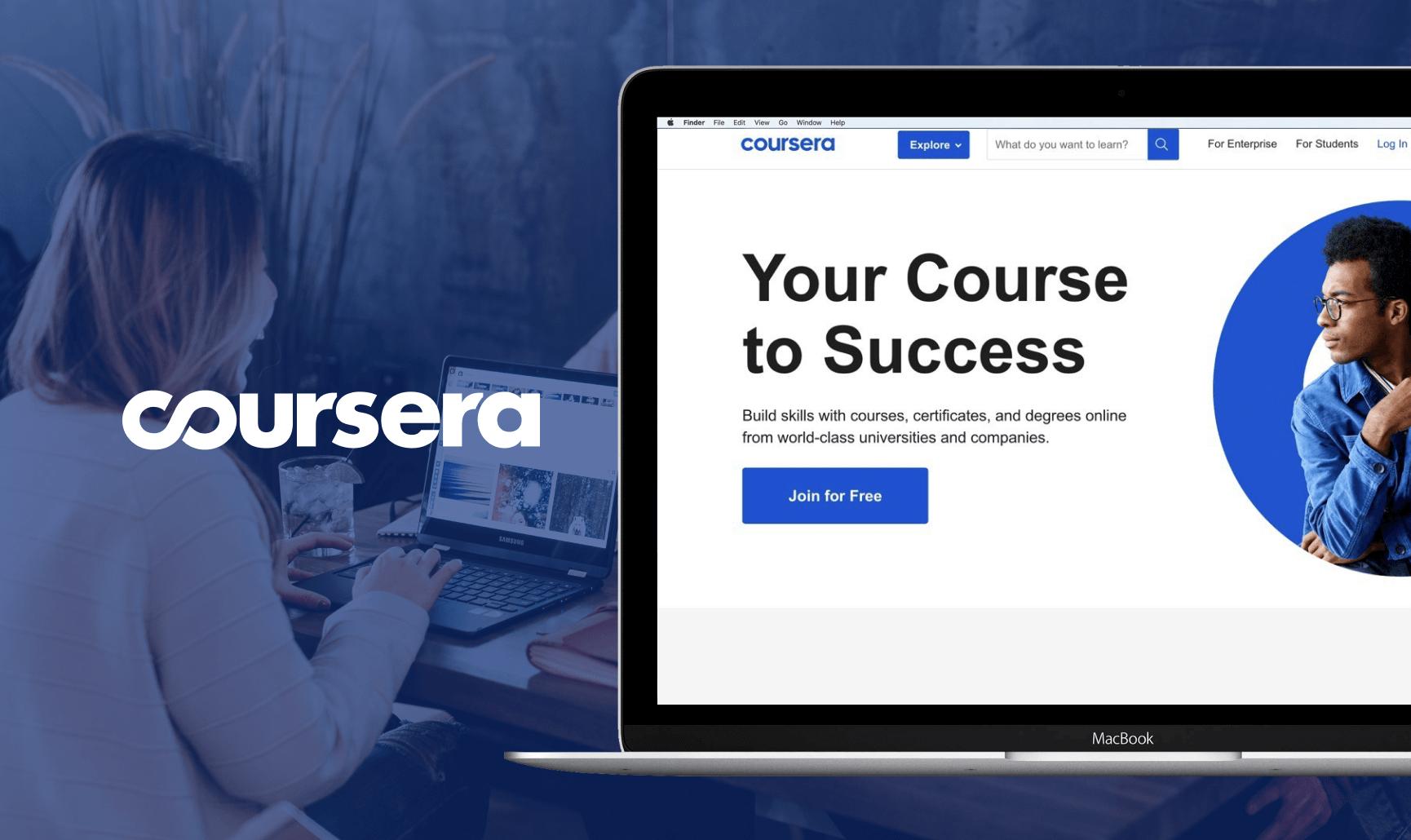 Coursera official website
